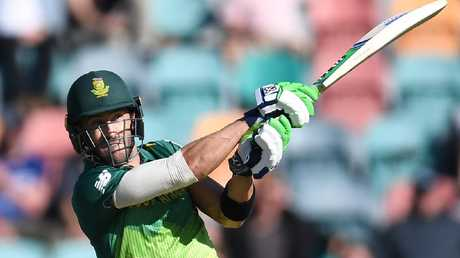 Faf du Plessis was in fantastic form during the recent ODI series in Australia.