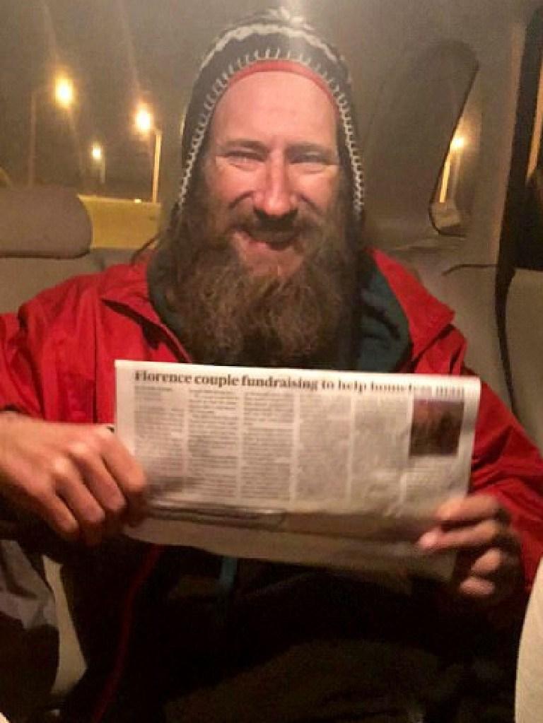 Homeless man Johnny Bobbitt Jr. Picture: Supplied