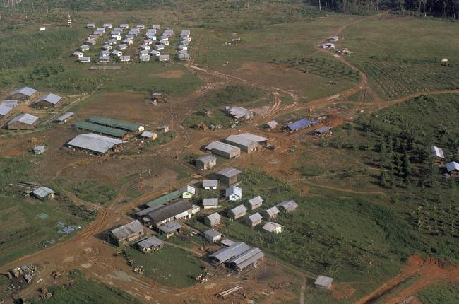 This November 1978 file photo shows the Peoples Temple compound after bodies were removed. Dozens of members survived because they had slipped out of Jonestown or happened to be away on November 18, 1978. Those raised in the temple or who joined as teens lost the only life they knew.