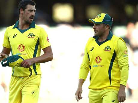 Starc and Finch have both been punted.
