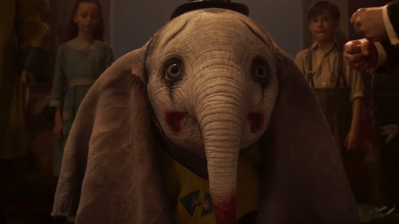 Scenes from the new live-action Dumbo.