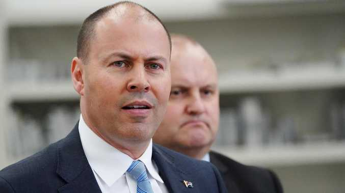 Treasurer Josh Frydenberg is planning to bypass the big banks to help small and medium sized businesses out. Picture: AAP/Stefan Postles