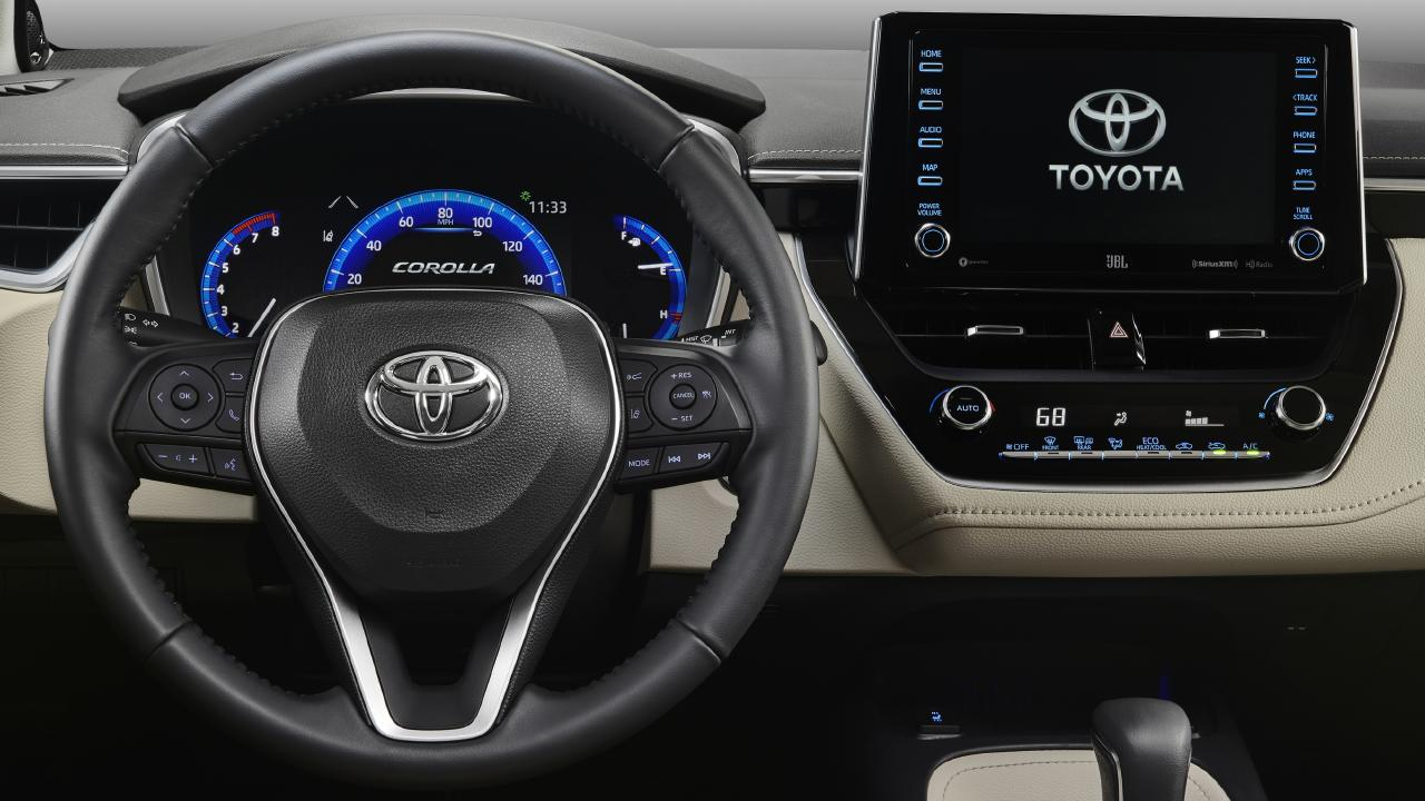 2019 Toyota Corolla sedan gets an extensive safety suite.