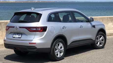 The Renault Koleos shares the same underpinnings as the Nissan X-Trail.. Picture: Joshua Dowling.