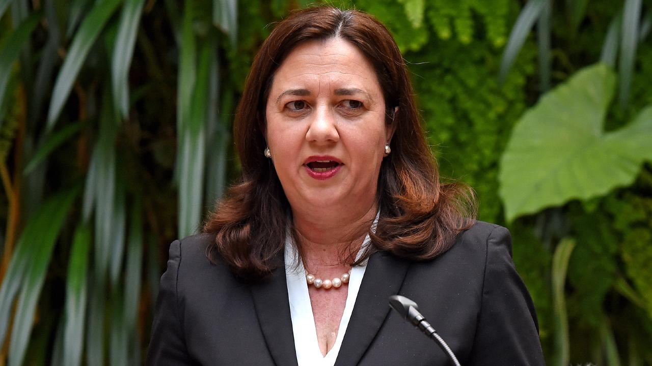 The report was by a committee formed by Annastacia Palaszczuk's Government. Picture: AAP Image/John Gass