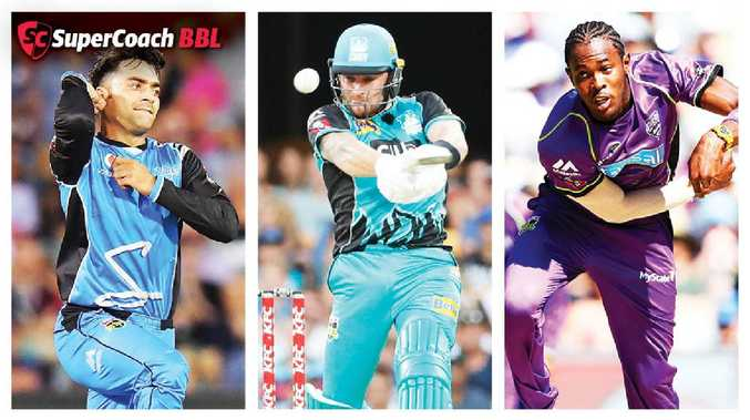 Jofra Archer, Rashid Khan and Brendon McCullum all feature in the 50 most popular players in SuperCoach BBL.