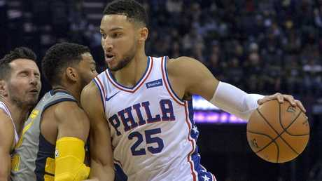 Ben Simmons could headline the Boomers squad. Picture: AP