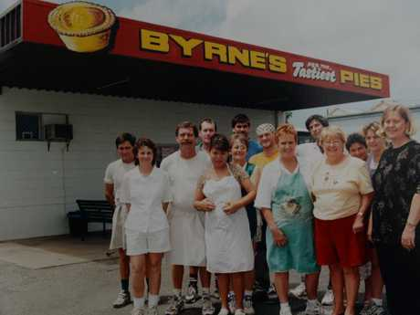 Byrne's Pies in its heyday