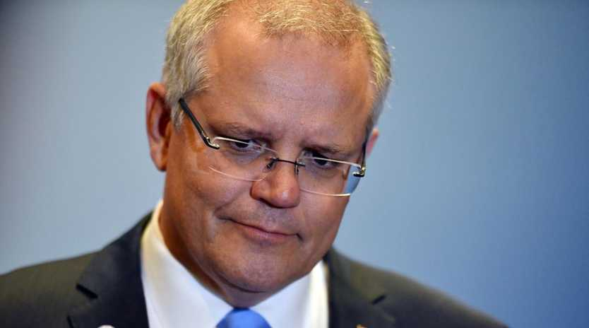 Australia's Prime Minister Scott Morrison at a press conference during the 2018 ASEAN Summit in Singapore. Indonesia and Malaysia have both warned of increased terror activity if Australia moves an embassy to Jerusalem. Picture: AAP