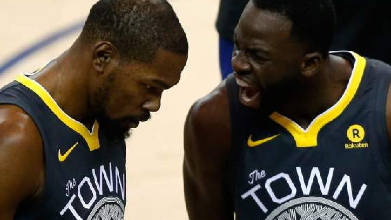 Draymond Green claims he and Kevin  Durant have resolved their