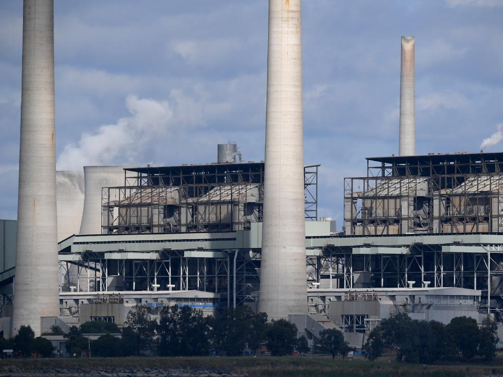 Liddell power station in Muswellbrook.