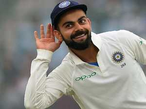 Kohli vows to fight Aussie fire with fire