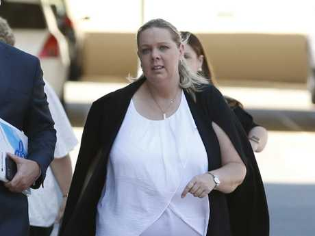 Witness, Dreamworld operations system administrator Nichola Horton. Picture: AAP Image/Regi Varghese