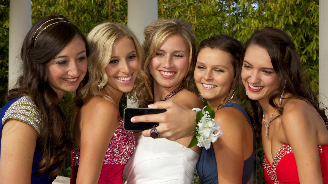 Teenage girls shouldn't have to take a date to their formal. Picture: supplied