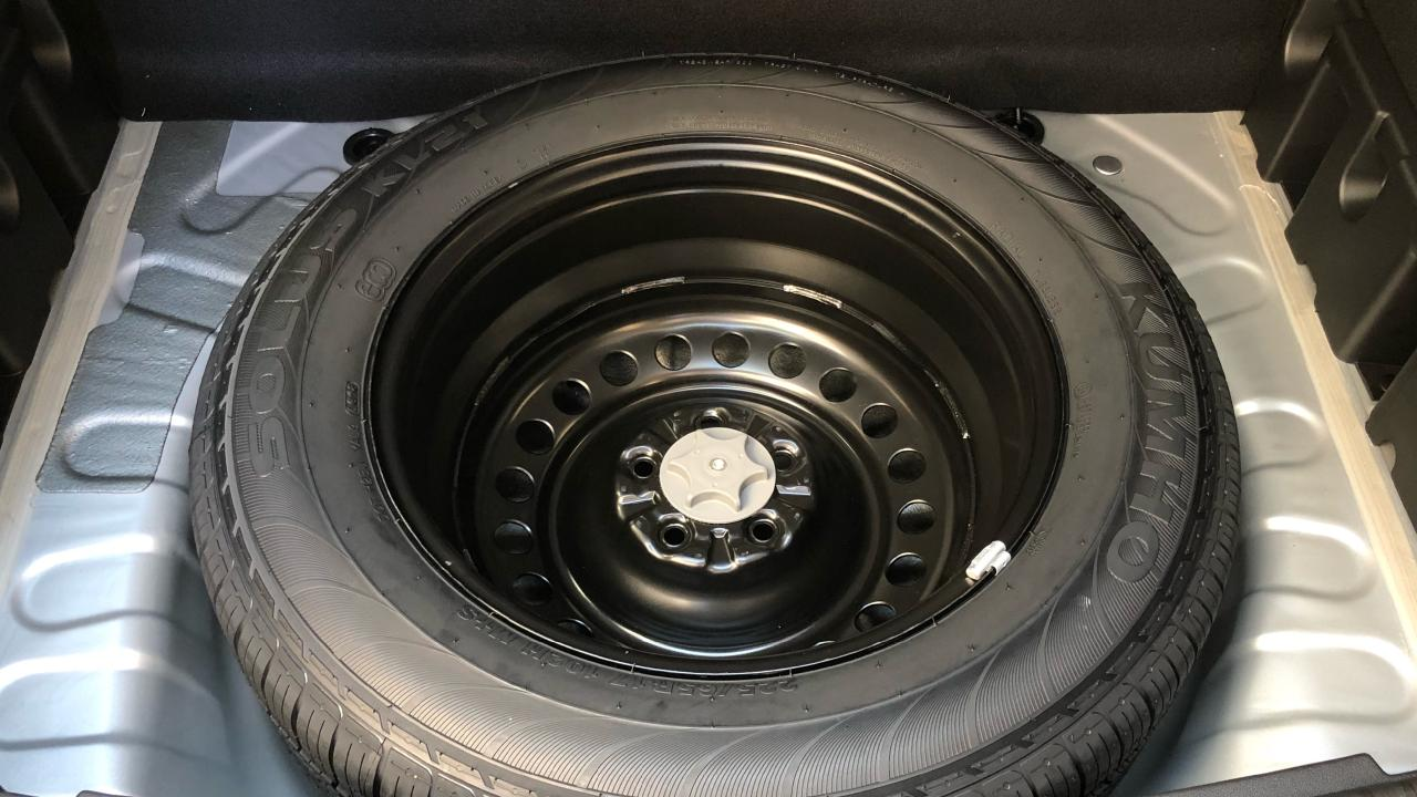 A full-size spare is as noteworthy addition. Picture: Joshua Dowling.