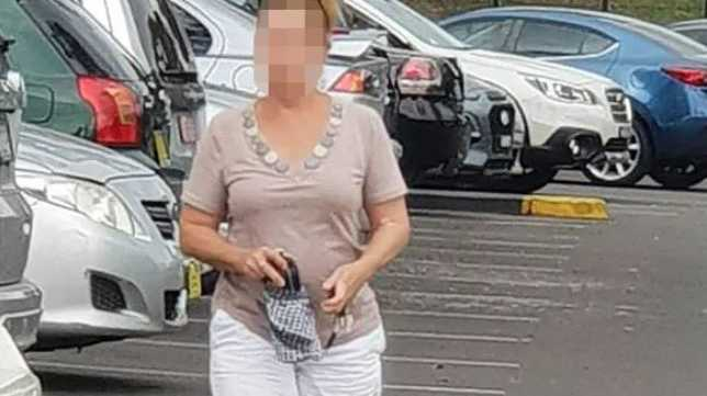 Woman targeting shoppers with sick scam