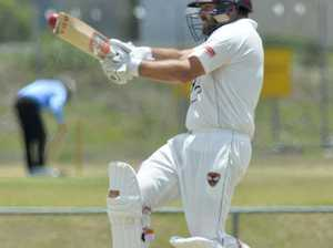 QLD premier grade cricket Ips/Logan v Gold Coast.
