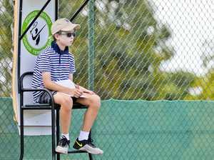 Jr Tennis at Chermside Road.
