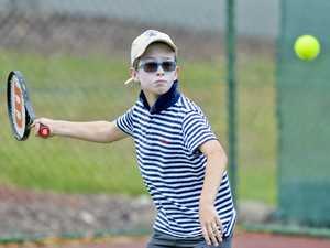 Jr Tennis at Chermside Road. Night Adders' Ben