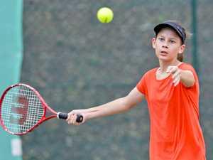 Jr Tennis at Chermside Road. FD Kestrels' Kiara