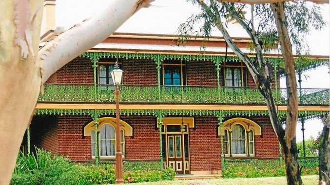 GHOSTLY: Australia's most haunted house near Junee NSW (above) was a long ways from the Ringing Plains homestead in Queensland. The mystery chimes in the old homestead at Irvingdale were never explained and those who heard them often wondered at their origins.