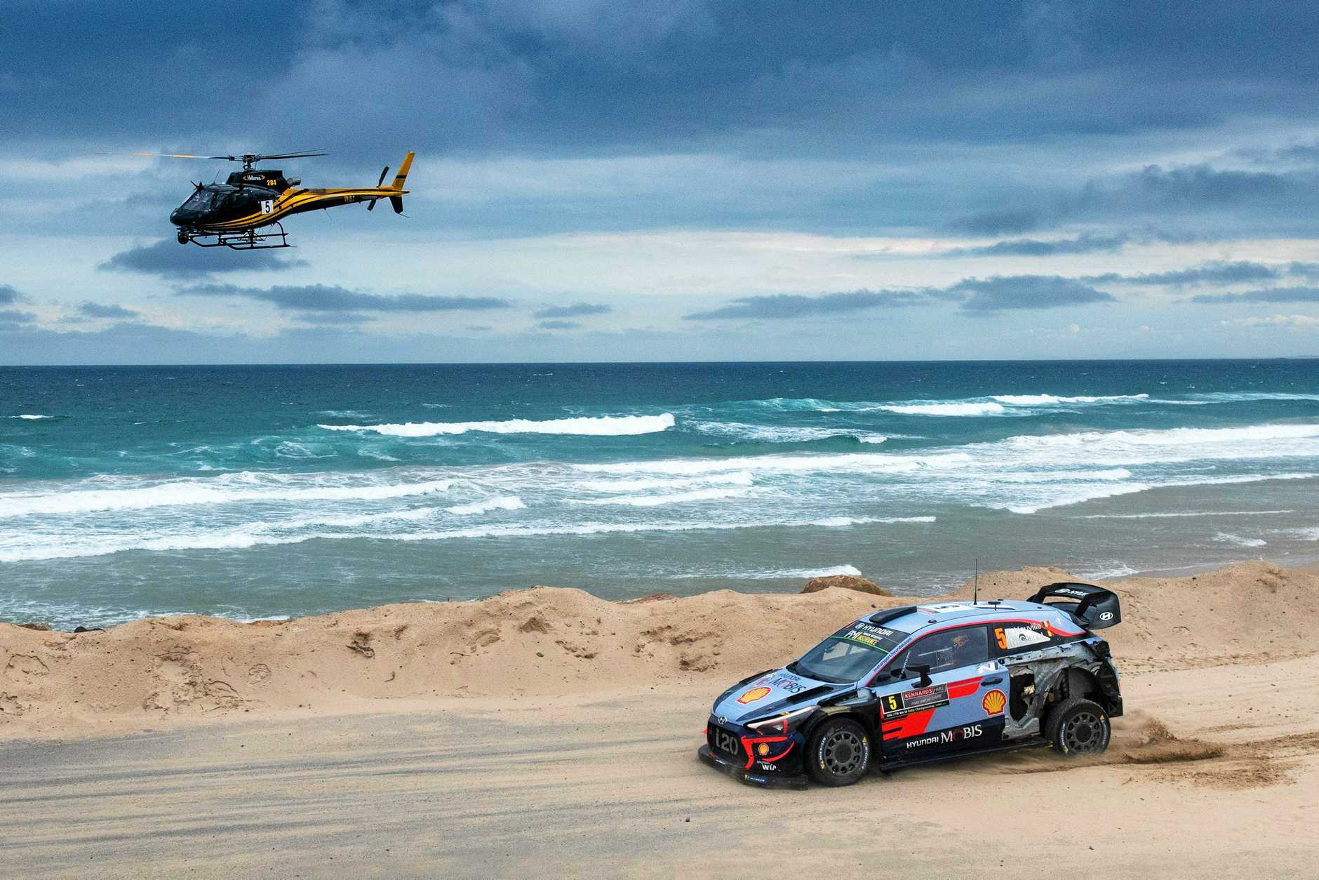 HEADING OUT: The WRC will not be held in Coffs Harbour next year.