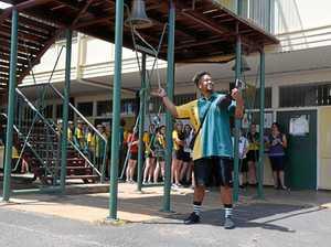 PHOTOS: Graduates ring the bell