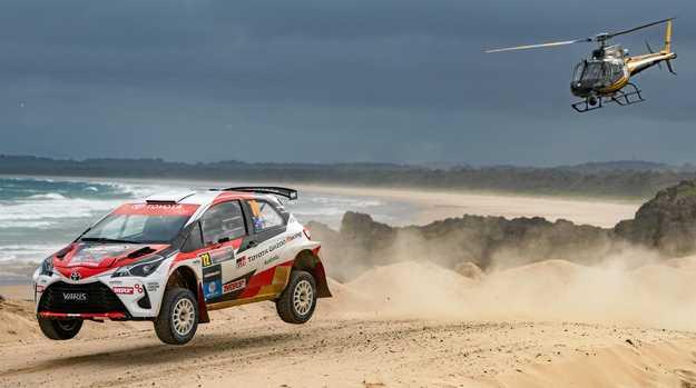 WRC 2018 Kenards Rally Australia . 16 NOV 2018