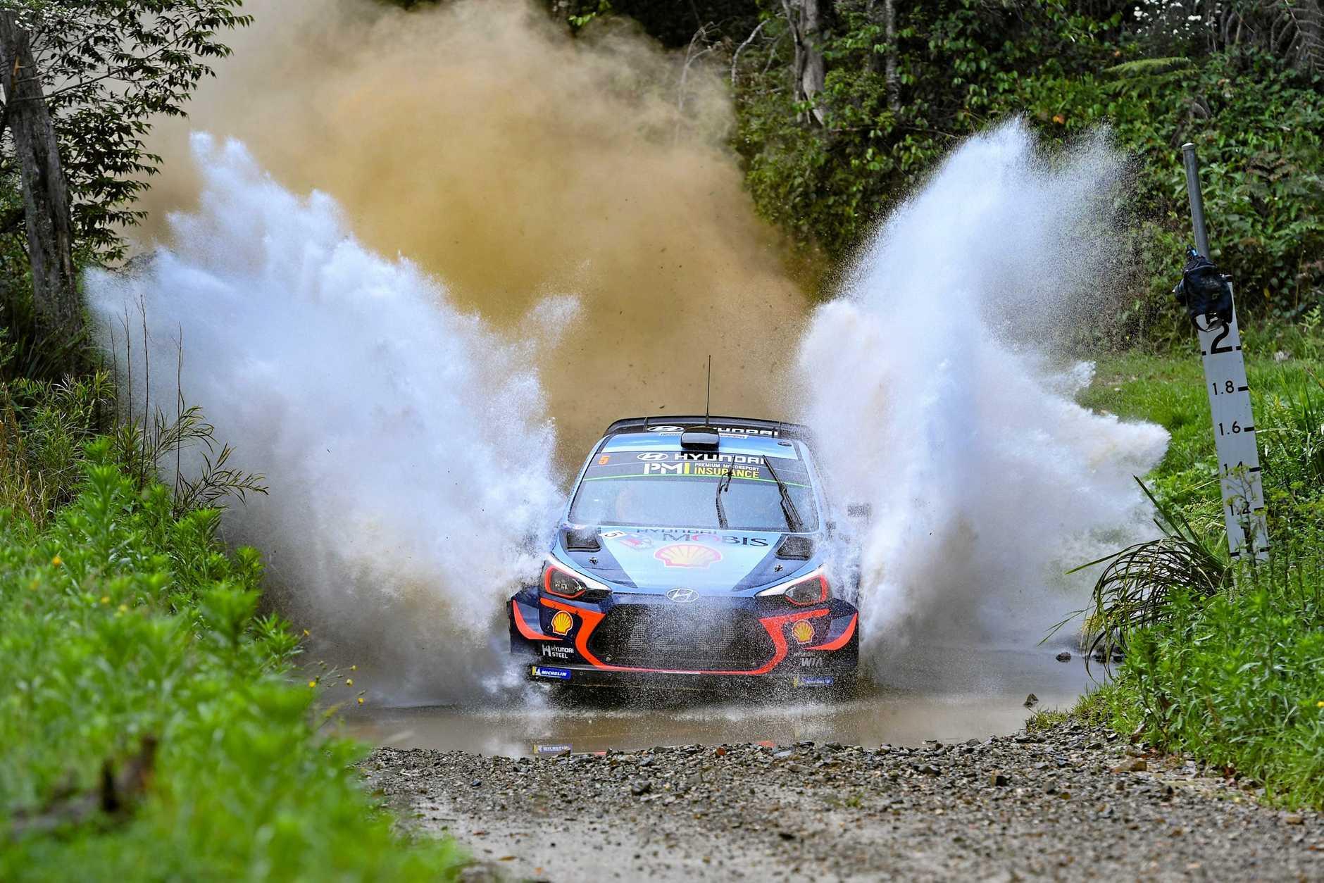 WRC 2018 kenards rally australia coldwater stage  Lowanna . 16 NOV 2018