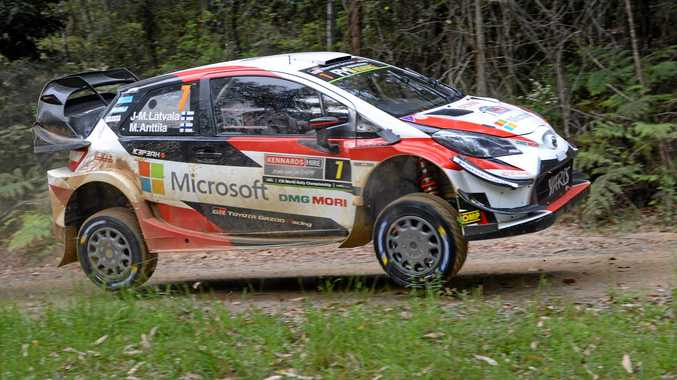 Latvala leads Tanak on the charge