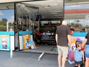 Car crashes into Gympie servo