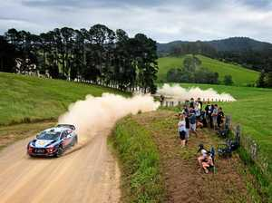 Rally stages Saturday
