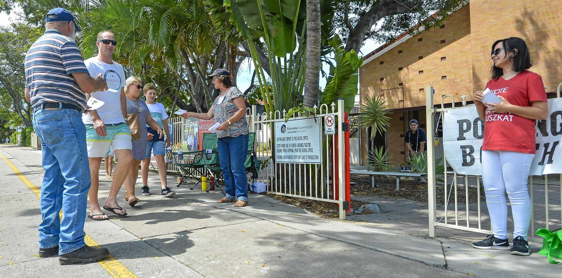 Voters attended polling booths around Gladstone as the Regional Council by election took place on November 17, 2018.