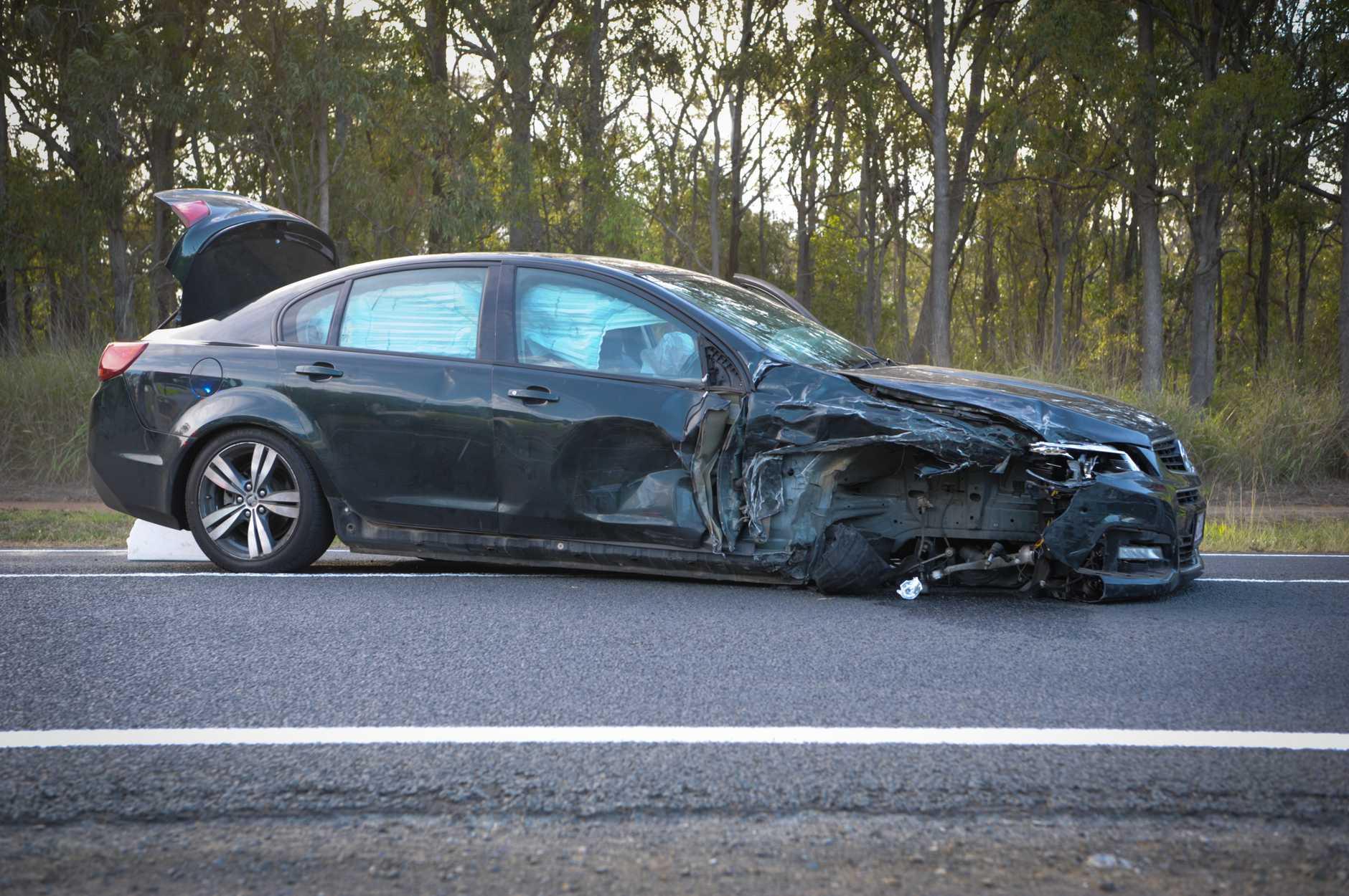 ALLOWAY: A three-vehicle crash involving ten people has taken place on Goodwood Rd south of Bundaberg.