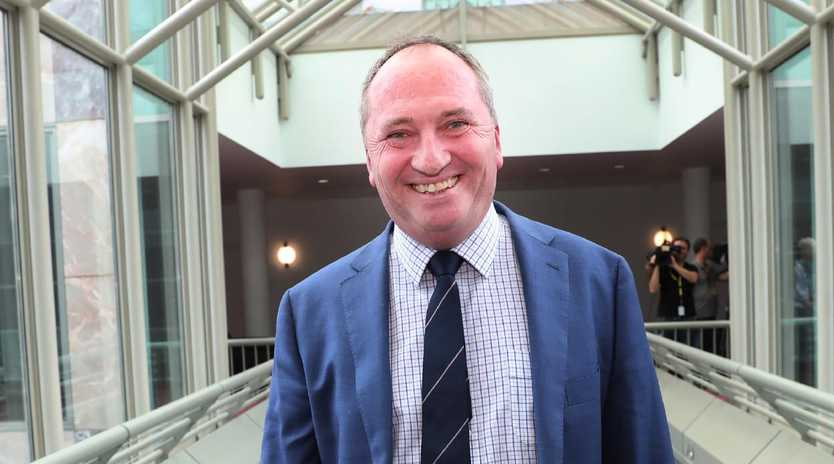 The poll showed 45 per cent of voters want Barnaby Joyce to return as leader of the National Party. Picture: Gary Ramage