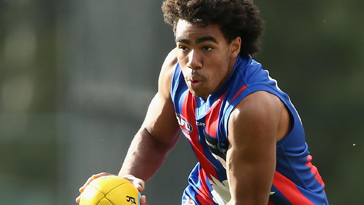 Isaac Quaynor has been likened to Bulldog Jason Johannisen. Picture: Getty
