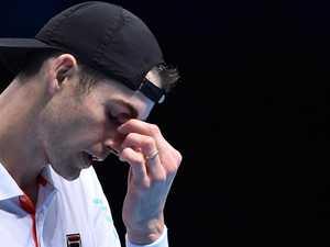 Mate's shock death breaks tennis star's heart