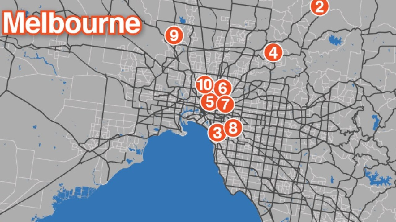 These are Melbourne's fastest-selling hot spots. Picture: Supplied