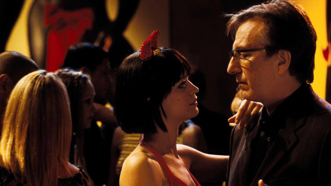 This illicit flirting in Love Actually would never have happened if these colleagues had fraternised more regularly. Picture: supplied