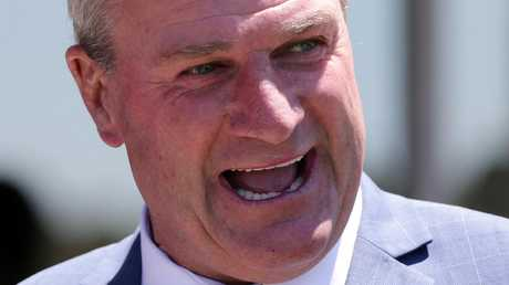 Darren Weir was happy with Yogi's win in the Sandown Cup. Picture: AAP