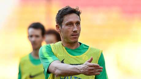 Mark Milligan has proved durable and reliable for the Socceroos. Picture: Albert Perez