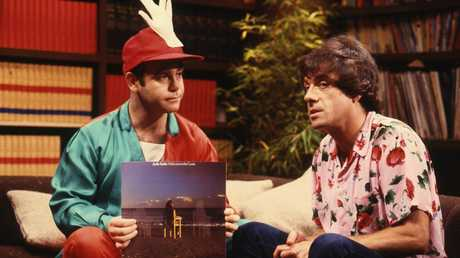 Molly Meldrum interviews Elton on Countdown in 1979.