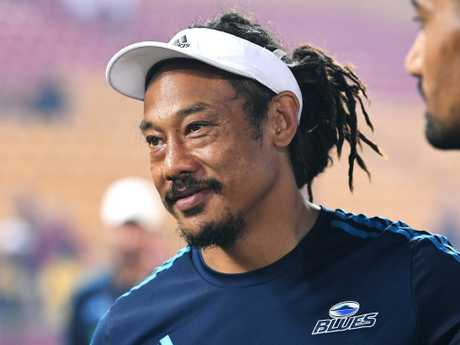 Demoted Auckland Blues coach Tana Umaga. Picture: Dave Hunt/AAP