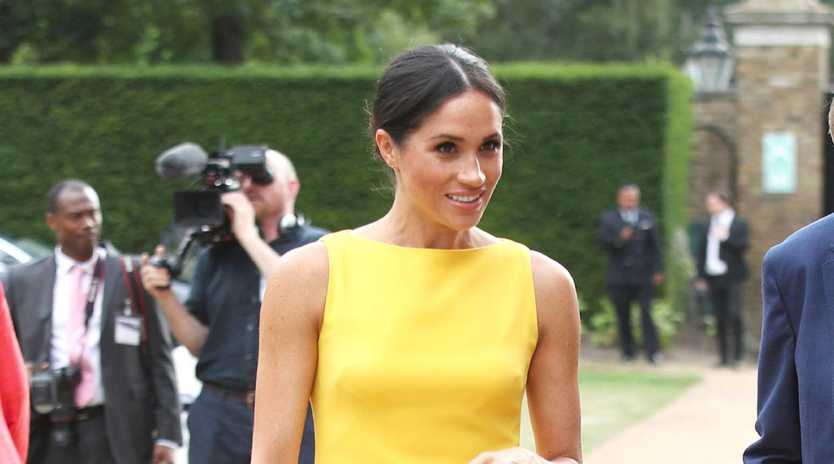 Meghan's fashion has changed, and it's all because of her pregnancy. Picture: Yui Mok