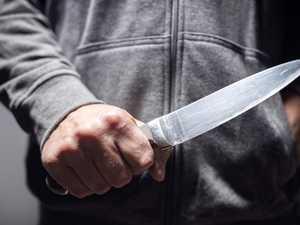 Man stabbed in the back in public brawl
