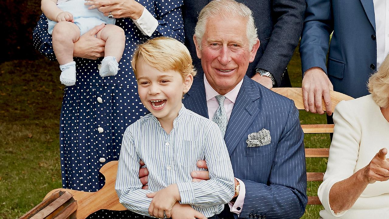 The focus here is on Charles as a grandpa. Photo: Chris Jackson/Clarence House via Getty Images