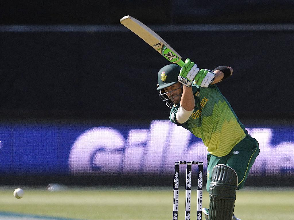 Faf du Plessis scored 182 runs at 91 and also made a big score in the series' decider - 125 off 114.
