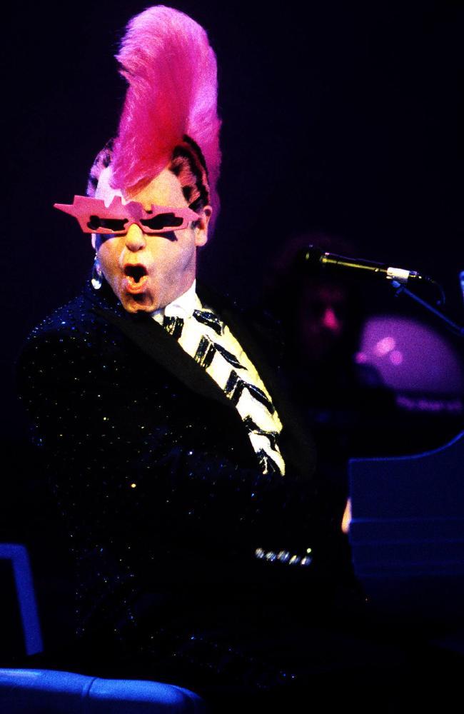 Elton? A diva? Never.