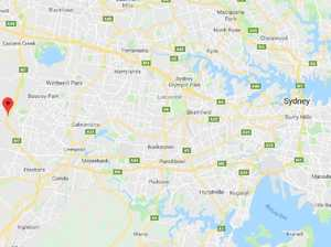 Explosives scattered on Sydney road