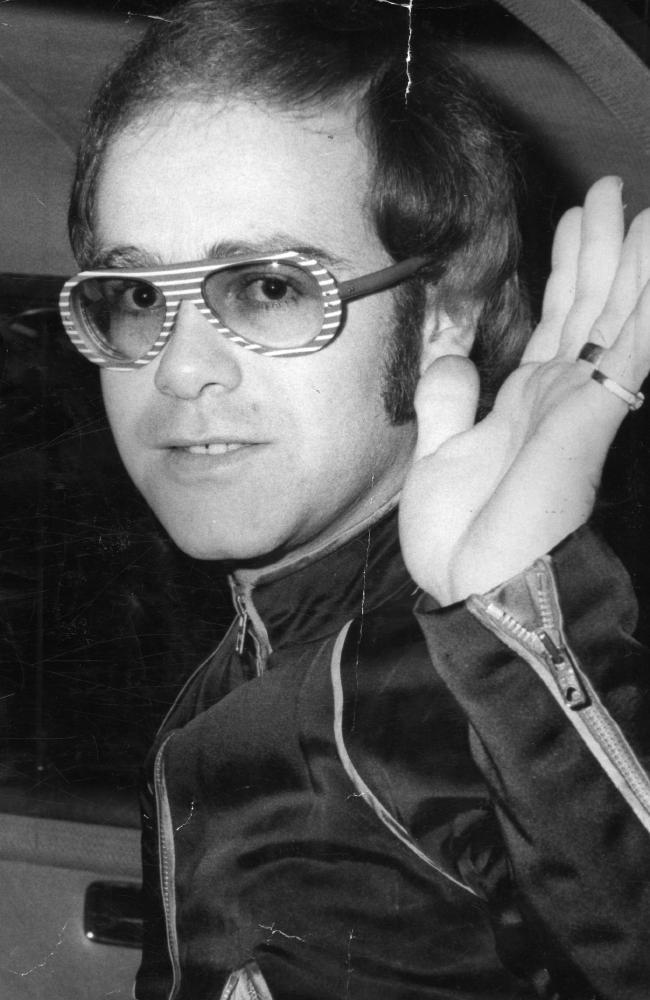Elton circa 1974.